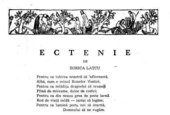 Ectenia - Maica Teodosia - Zorica Latcu - Gandirea
