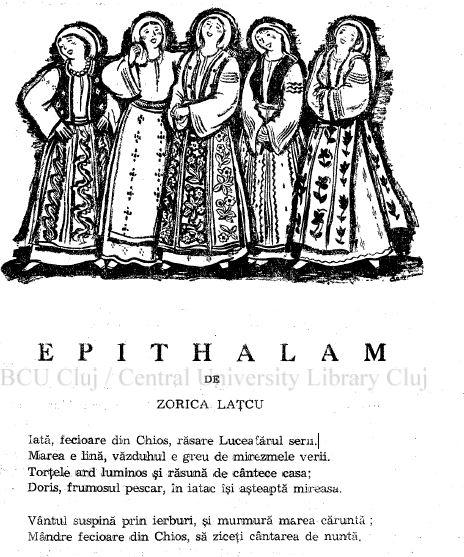 Epithalam Maica Teodosia Zorica Latcu Gandirea