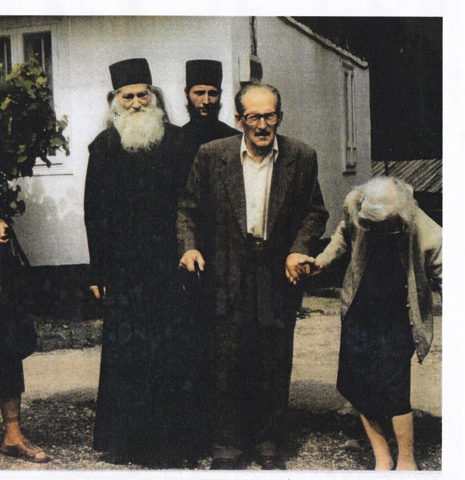 Parintele Justin Toader Popescu si Varvara