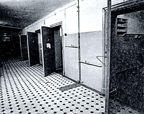 Celule in subsolurile de sase etaje ale KGB-ului