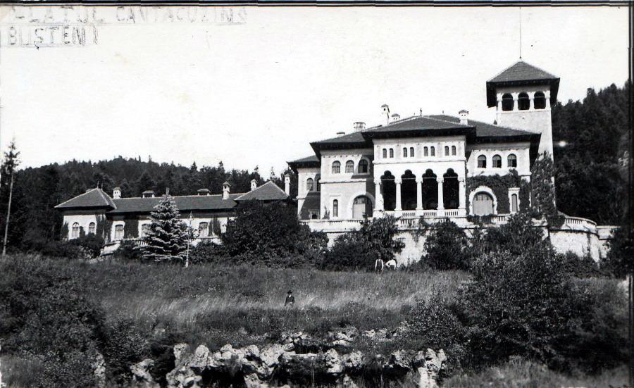 Palatul din Busteni al Familiei Cantacuzino