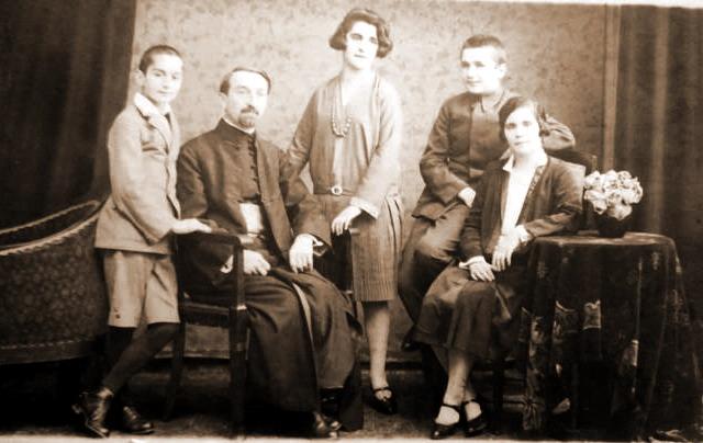 Aurel-fiul-Emilian-tatal-Virginia-sora-Emil-Cioran-si-Elvira-mama