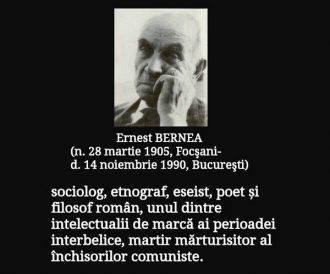 """14 ani de închisoare pentru că am scris de țărani şi """"e prea mult creștinism în cărțile mele"""". Ultimul interviu al lui Ernest Bernea. 26 de ani de la plecarea la Ceruri (+14 noiembrie 1990)"""