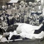 Hăcuit cu baionetele de greci. Părintele martir Haralambie Balamaci: «Loveşte şi pe partea aceasta, căci nu cred să fiu chinuit mai mult decât Iisus Hristos. Ştiu că mor pentru dreptate şi pentru naţiune!» (23 martie 1914)